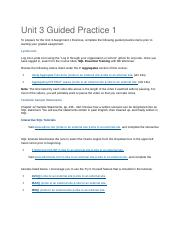 CIS250 Unit 3 Guided Practice 1.docx