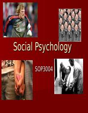 Lecture 0 - What is Social Psychology.ppt