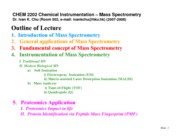9.1. Biological Mass Spectrometry