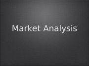 Market Analysis ICS