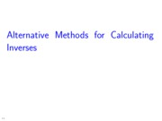 L05_CalculatingInverses