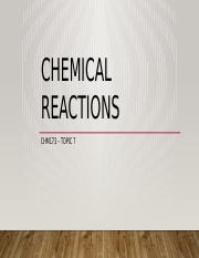 Topic 7 - Chemical Reactions (Student).pptx