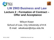 LW2903 Business Law 2(1)