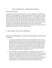 History 108 Debate Day-Federalists-worksheet