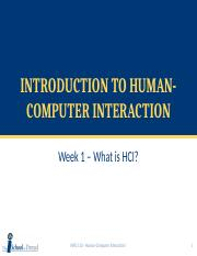 Week 1a - Introduction to HCI.pptx