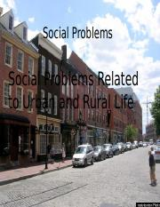 K3_Urban and Rural Problems