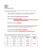 Exam 2 Spring 2014 practice solutions