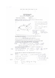 Midterm 2 Spring 2004 Solutions