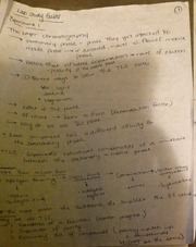 ORGO 276 TLC Lab Study Guide