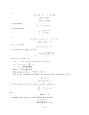 Differential Equations Lecture Work Solutions 171