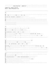 Demetori - Deep Mountain Guitar Tab v1
