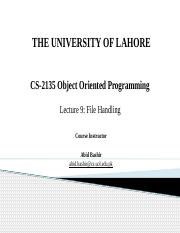 Lecture 9 - File Handling-REVISED.pptx