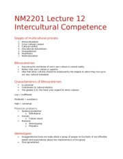 NM2201 Lecture 12 - IC Competence
