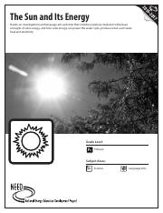 The Sun and its Energy.pdf