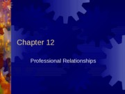 COM 225 Chapter 12