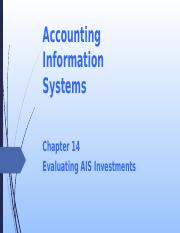 L12 Evaluating AIS Investments