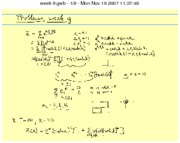 Statistical Mechanics and RationingClass Notes week1