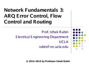 232D_1_Network Fundamentals 3_Error_Flow_Routing_Control 01 01 2015A
