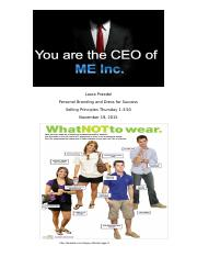 Activity 5 Personal Branding and Dress for Success.docx