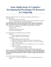 Lesson5_Some Implications of Cognitive_Developmental Psychology for Research in Composing