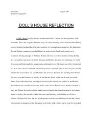 A Doll's House Reflection (1).pdf