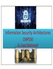 5. Security Architecure