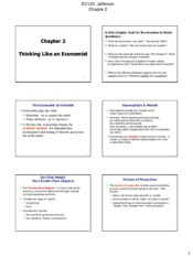 EC120 - Chapter 2 Notes
