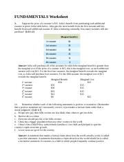 1 Fundamentals Worksheet (Answers)-1