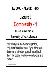 360C Lect 5 Complexity 1_Notes Part1