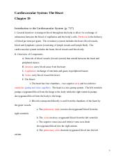 BIO 116 - Chapter 19 Notes