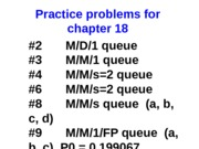 Practice problems for chapter 18-Solution