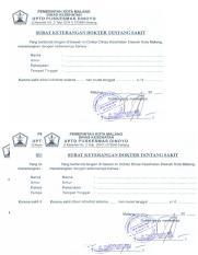 Dokter Merjosaridoc Pemerintah Daerah Malang Dinas