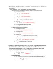 Key Detailed Review Midterm 1