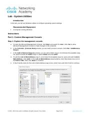 11.3.2.7 Lab - System Utilities.docx