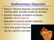 Lecture 11 - Mineral Resources