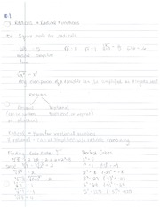 10.1, Radical and Radical Functions