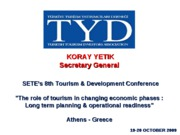 TYD October 2009 Athens-Koray Yetik