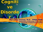 Cognitive disorders (Ostrea).ppt