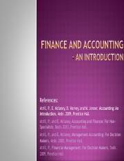 01_Finance and Accounting - Intro