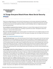 10 Things Everyone Should Know About Social Security - Yahoo! Finance.pdf