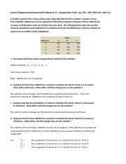 Copy of Linear Programming Problem 6.15 Solution.xlsx
