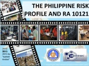 4D - Philippine DRRM Plan - excerpts