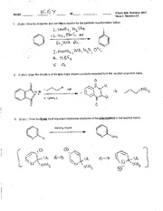 Chem 308C_Summer 2011_Quiz 6 Key