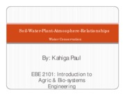 EBE 2101-Plant-soil-water-atmosphere Relationships-Lecture notes by Kahiga Paul.pdf