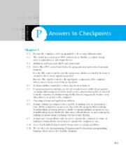 Appendix P - Answers to Checkpoints