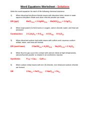 writing-complete-word-equations 2 pages word doc answers.odt ...