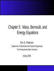 Chapter_05 Mass Bernoulli and energy equations.ppt