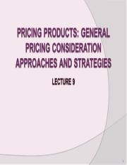 Lecture9 -Pricing.ppt