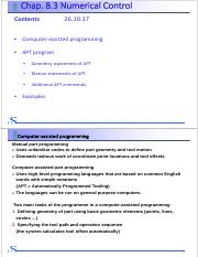 Chap 1 Introduction to CAE pdf - Content CAE CAE Chap 1 Introduction