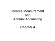 Mgmt 200 Fall 2009 Chap 4 Accrual Accounting